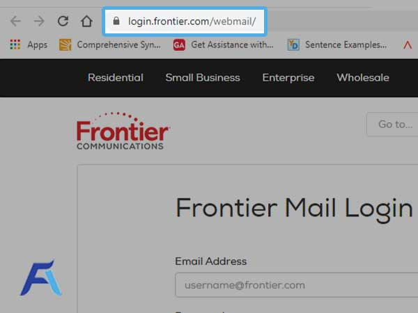 login.frontier.com