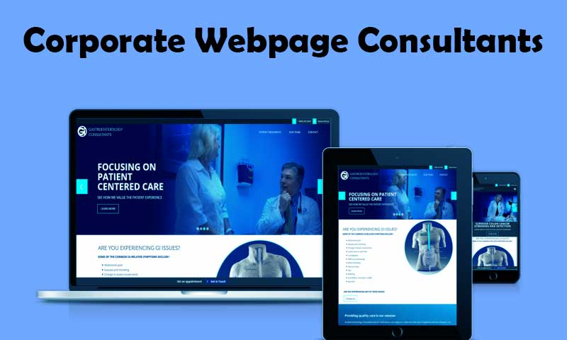 Corporate Webpage Consultants