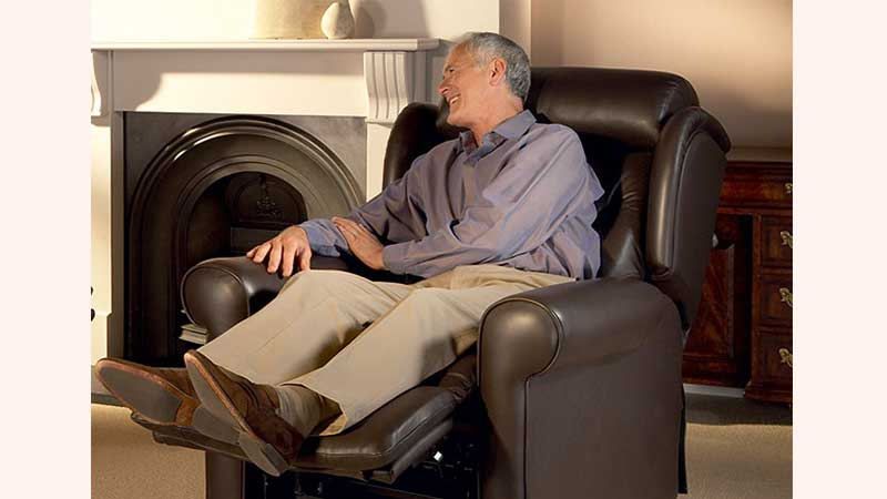 Seniors Active and Less Mobile Often Sleep in A Reclinerr